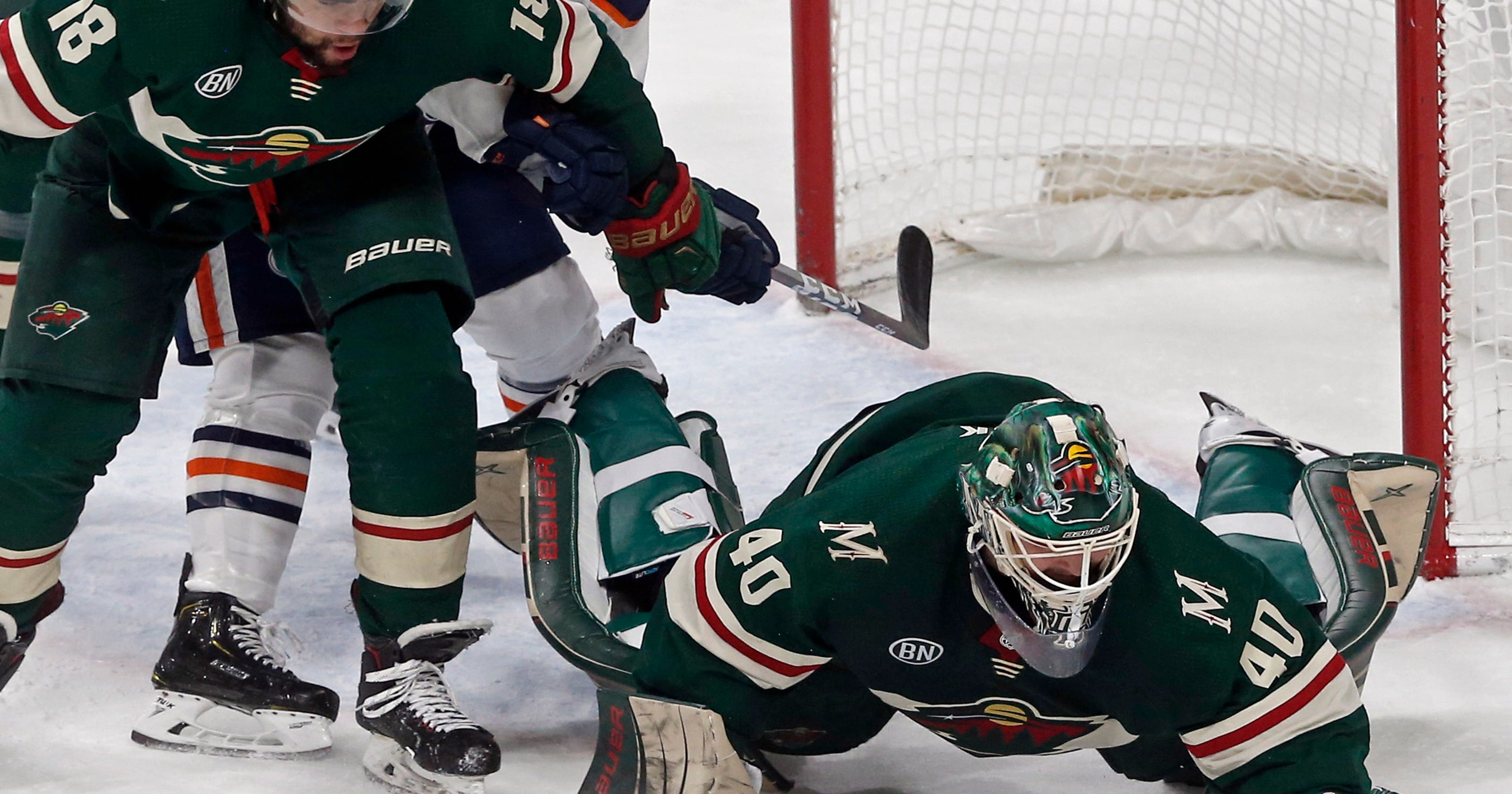 Oilers stop 6-game losing streak with 4-1 win over Wild be6f4f16b