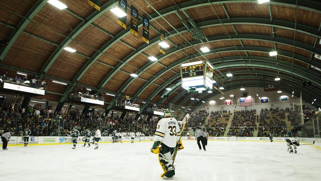If UVM's arena plans reach the construction phase, Gutterson Fieldhouse will turn into a fitness center for the school's student body.BRIAN JENKINS/for the FREE PRESS