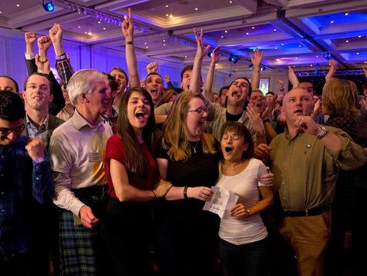 APTOPIX Britain Scotland (2)