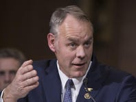 Committee recommends confirmation of Zinke as interior secretary