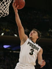 Carsen Edwards' offensive skills earned him the Jerry West Award as the nation's top shooting guard.