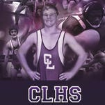 """Cypress Lake developed a poster for its wrestling program in 2015. A year ago, their edition was voted """"Voter's Choice,"""" in the Best in Brand Awards."""