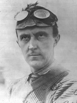 Ray Harroun, circa 1911, when he won the first ever Indianapolis 500.