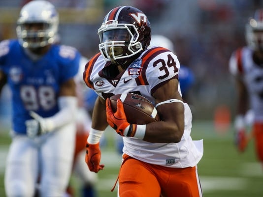 NCAA Football: Independence Bowl-Tulsa vs Virginia Tech