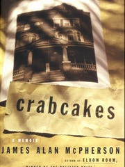 "Book jacket of ""Crabcakes"" by James Alan McPherson"