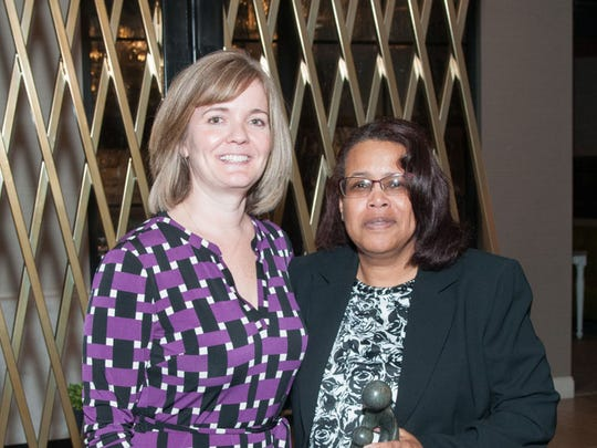 Deborah Ayres-Harding, assistant nurse manager of inpatient psychiatry at Christiana Care, and Danielle Weber, nurse manager in the Neurosciences Service Line, were named by their peers as DAISY Leaders.