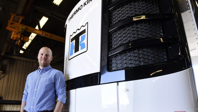 Pete Halverson is the general manager of Thermo King of Sioux Falls.