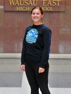 Hanna Plummer has been a member of the Wausau East girls swim team since her freshman season and was part of two state-qualifying relay teams last season.
