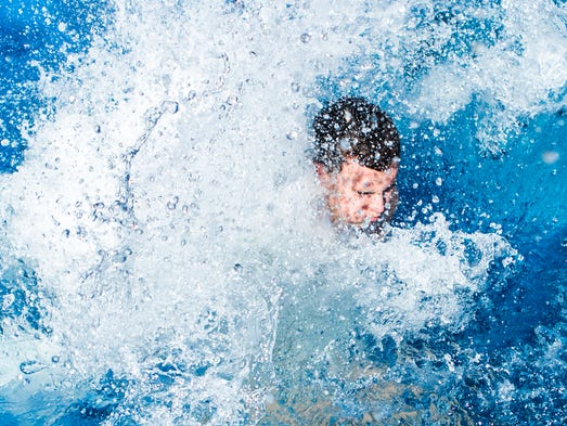 Ud Students Take Plunge For Special Olympics