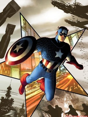 Captain America is shown in a 2011 file illustration.