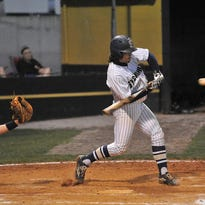 Sycamore's Jacob McCoy goes to bat for the War Eagles in a recent game.