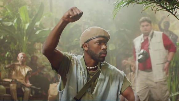 Jay Pharoah takes the Idris Elba role in this parody,