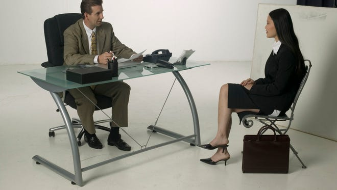If he's leaning toward you in an interview, that's a good sign, according to body language experts.