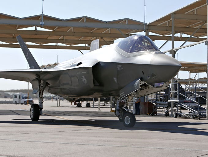 Luke Air Force Base is known for training F-35 and
