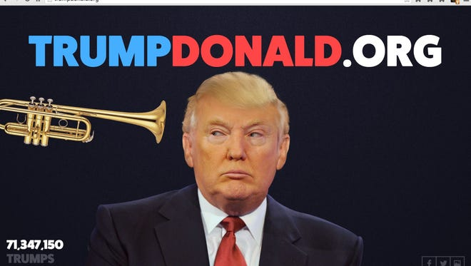 Join 71 million other visitors in blowing Donald's hair at trumpdonald.org.