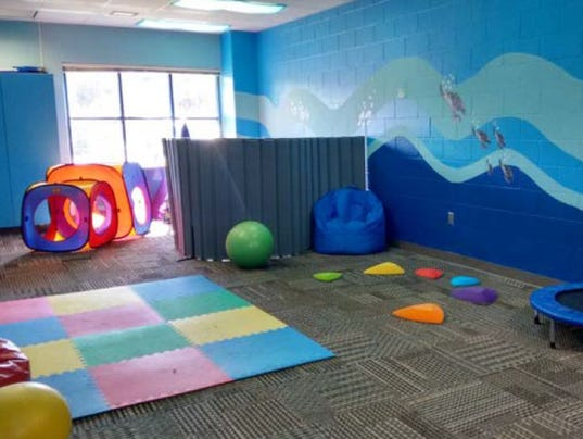 Sensory room at Tropic Isles