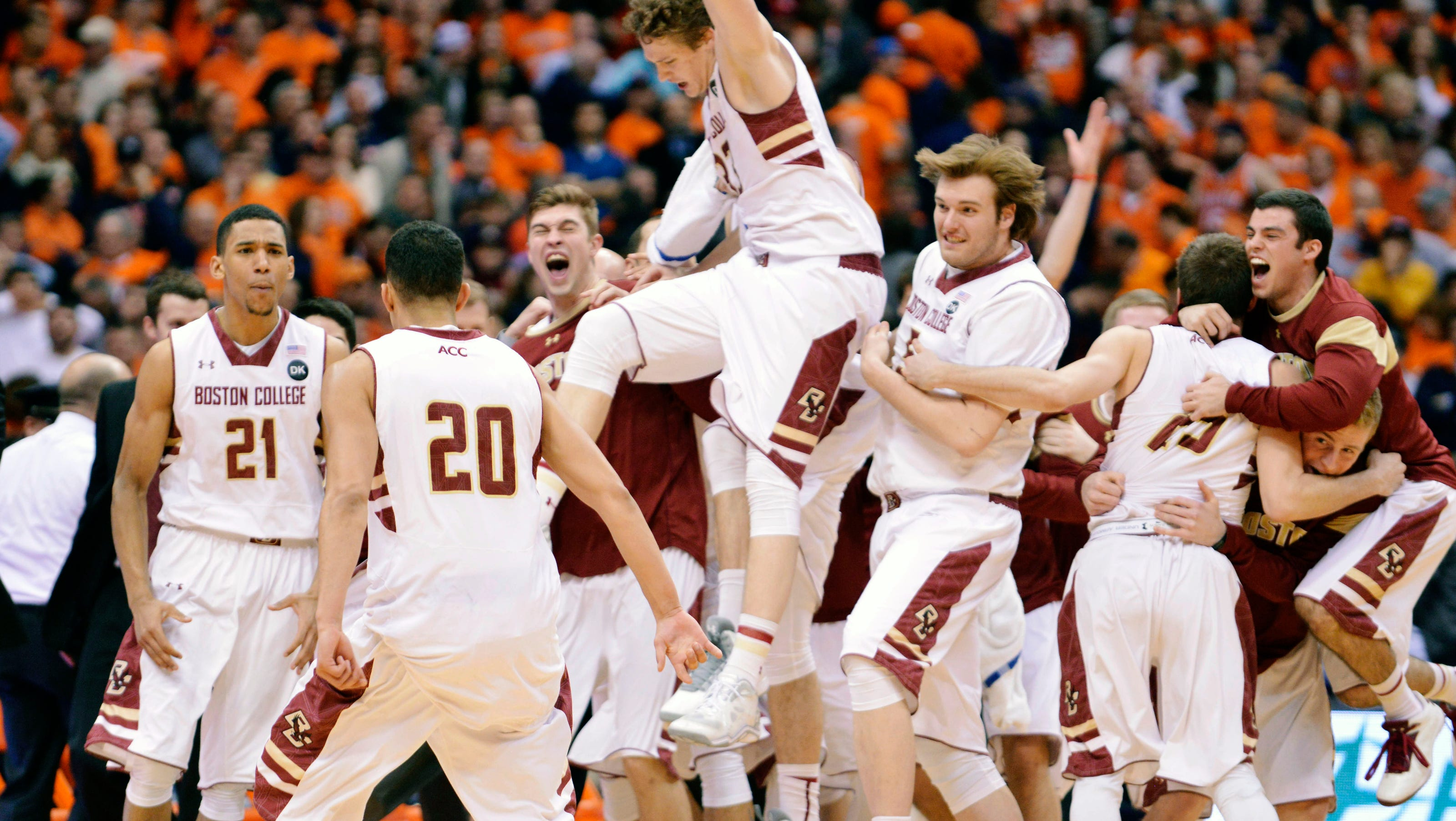 Boston College Stuns No 1 Syracuse
