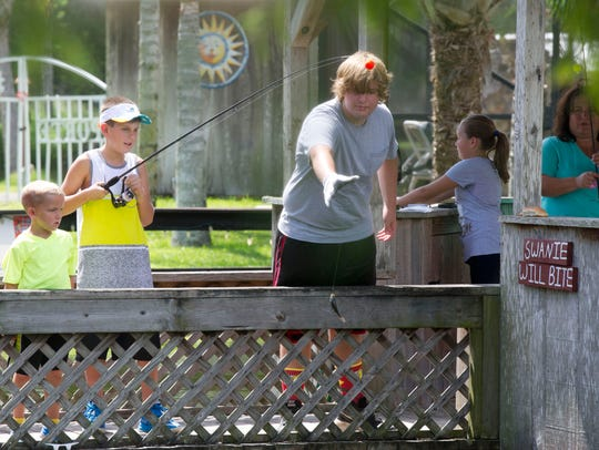The Kids Fishing Tournament is Saturday at LaPorte Farms in Sebastian.