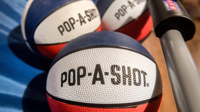 The Pop-A-Shot world headquarters is in a converted warehouse at 918 SW Jefferson St. in Peoria's Warehouse District.
