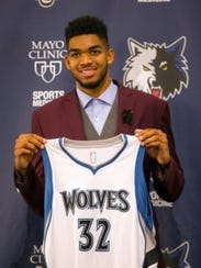 Piscataway-raised Karl-Anthony Towns is an NBA superstar