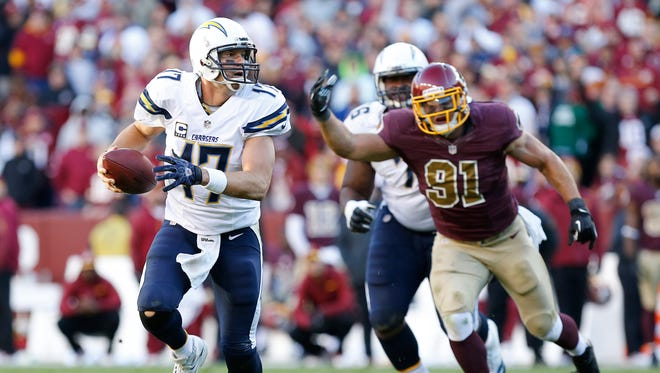 Chargers QB Philip Rivers was good Sunday but not quite good enough.