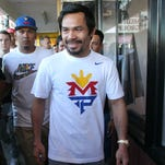 Pacquiao's recurring calf cramps causing concern