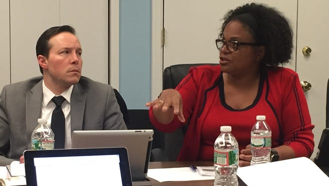 Councilwoman Wartyna Davis, shown with Councilman Ted Gamble, will serve as the project scholar for a new LGBTQ study projected funded through a $5,000 state grant.