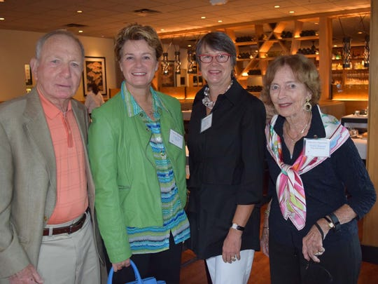 Peter Behr (from left), Leigh Garry, Lois Fraser, Wendy