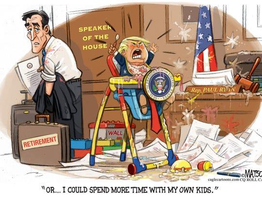 Paul Ryan's exit.
