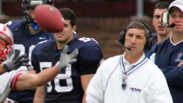 Al Bagnoli, seen here during his time at Penn, helped