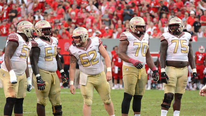 Florida State will look to replace four starters from the 2014 offensive line.