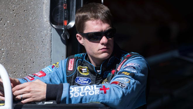 David Ragan, shown here in November, won the spring Sprint Cup race at Talladega Superspeedway in 2013 for the only victory for Front Row Motorsports.