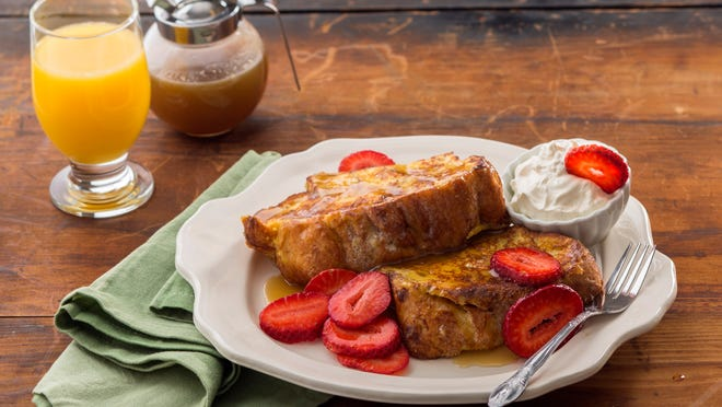 Bread is king at Kneaders Bakery and Cafe, where French toast is a favorite.