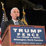 Today: Mike Pence to campaign in Reno