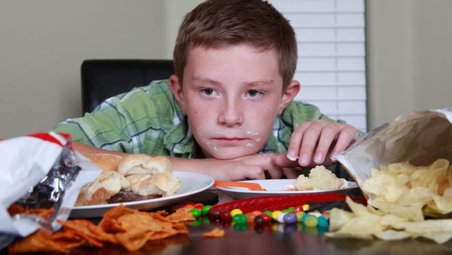 No Energy after Eating Junk Food