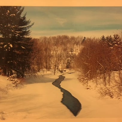Johnson, Vermont, where I spent a month in February