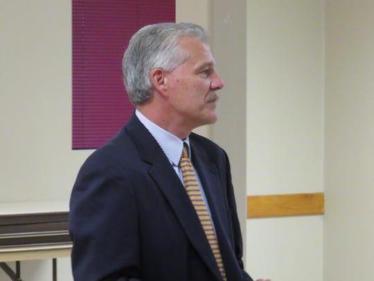 Darryl Lindsay, a former Vestal police officer who