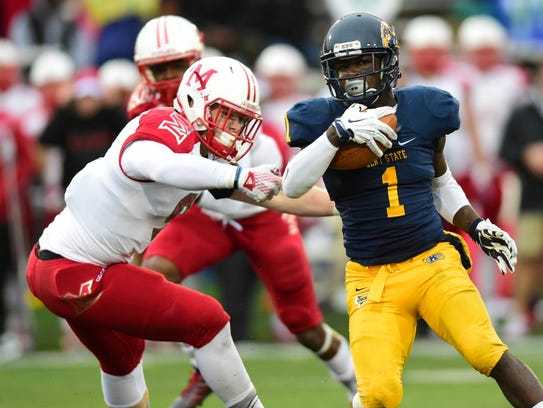 Kent State's Antwan Dixon, a South Fort Myers High
