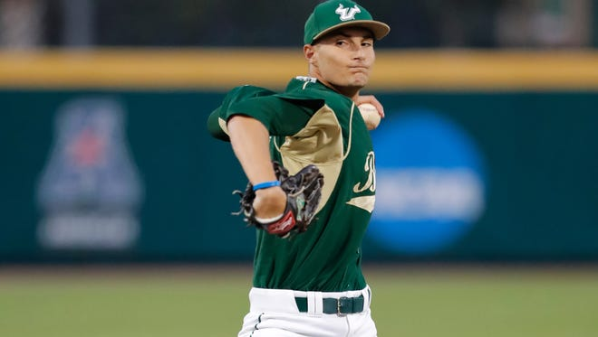 USF left-handed pitcher Shane McClanahan, a Cape Coral High product, begins his redshirt sophomore campaign next month. McClanahan will be eligible for June's Major League Baseball First-Year Player Draft and is projected to be a high first-round pick.