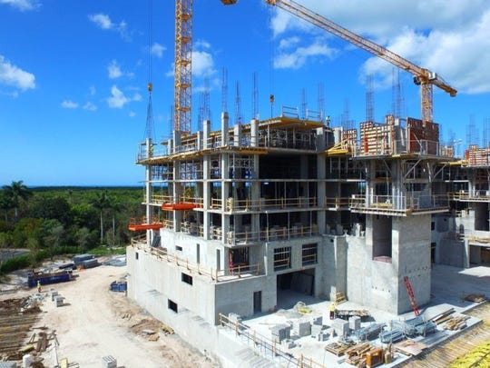 Submitted   The first residential tower at Kalea Bay, which has hit the 60 percent sold mark, is slated to be completed in the summer of next year.