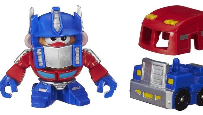 Playskool's Transformers-themed Mr. Potato Head action figure.
