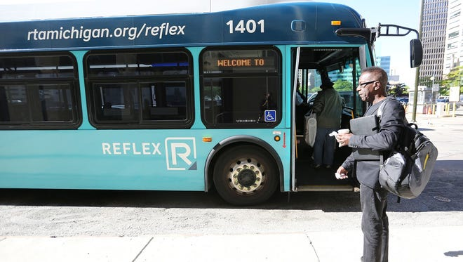 The Regional Transit Authority of Southeast Michigan may consider extending the refleX express bus service to connect Wayne and Washtenaw counties.