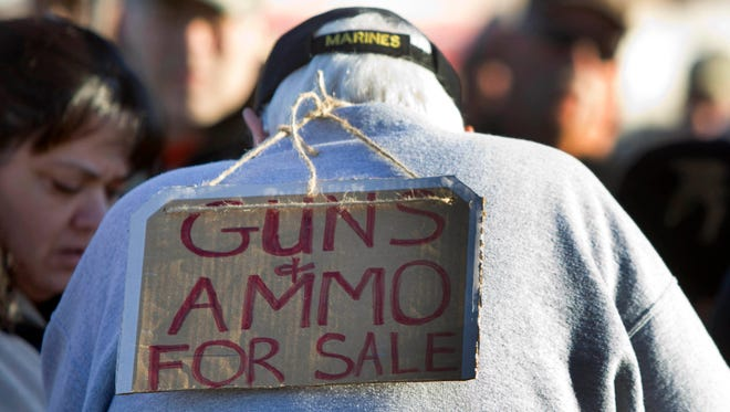 """THEN: Sen. John McCain said in 2001, """"Clearly, alleged members of terrorist organizations have been able to secure guns and weapons using the gun show loophole."""""""