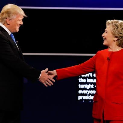 Leave mud behind for next debate