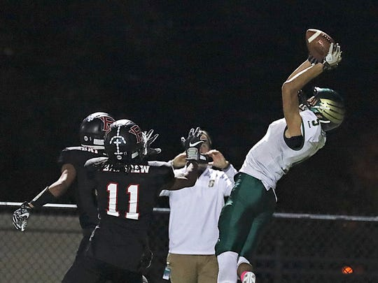 Greenfield's Elijah Rosario makes a sensational leaping