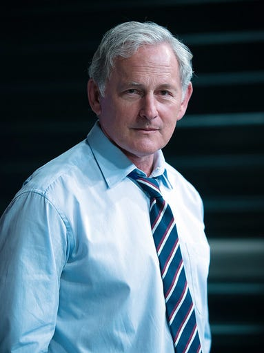 Victor Garber as The Vice-President in 'Big Game.'
