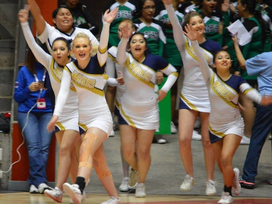 RHS cheerleaders will have the first week in May. For more information, email Coach Alvarado at alvaradon@ruidososchools.org.