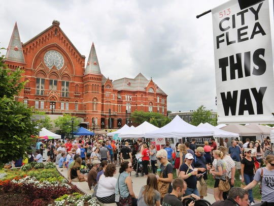 The City Flea Unwrapped Holiday Market at Washington Park will be held Dec. 12.