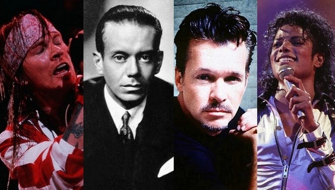 Axl Rose, Cole Porter, John Mellencamp and Michael Jackson are represented on our list of all-time Indiana greats.