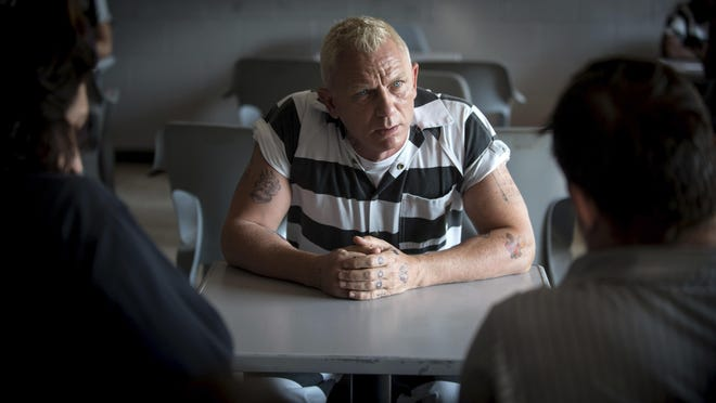 "This image released by Bleecker Street shows Daniel Craig in ""Logan Lucky."""